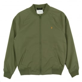 Richards Bomber Jacket Military Green