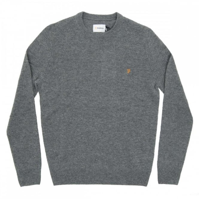 Farah Rosecroft Jumper Gravel Marl