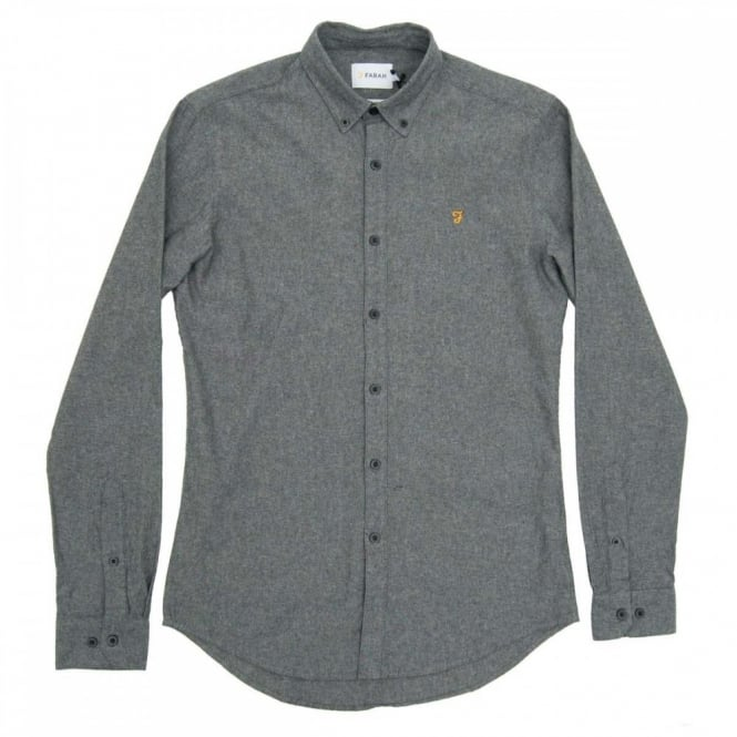 Farah Steen Shirt Gravel