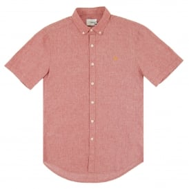 Steen SS Shirt Light Currant