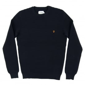 Thornley Texture Jumper True Navy