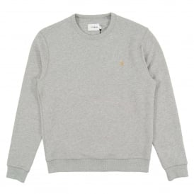 Tim Sweatshirt Light Grey Marl