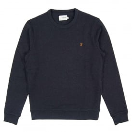 Tim Sweatshirt True Navy Marl