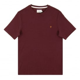 Wallace Stripe T-Shirt Aged Port