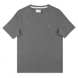 Wallace Stripe T-Shirt Gravel