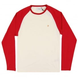 Zemlak LS Raglan Deep Red