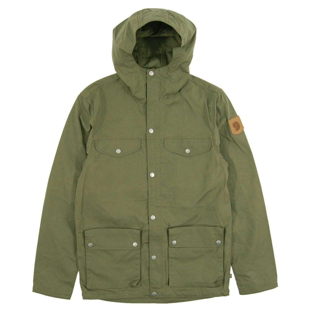 save off c7432 0e2fc Fjällräven Greenland Jacket Green