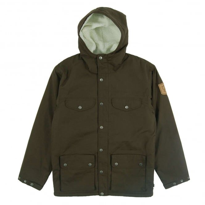 Fjällräven Greenland Winter Jacket Dark Olive
