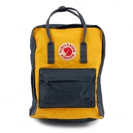 Kånken Backpack 16L Navy Warm Yellow
