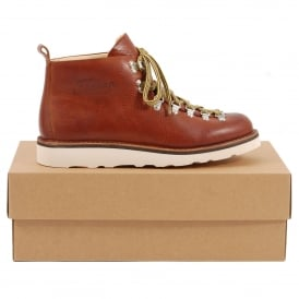 M120 Scarponcino Brown Tumbled Leather Cristy Vibram Sole