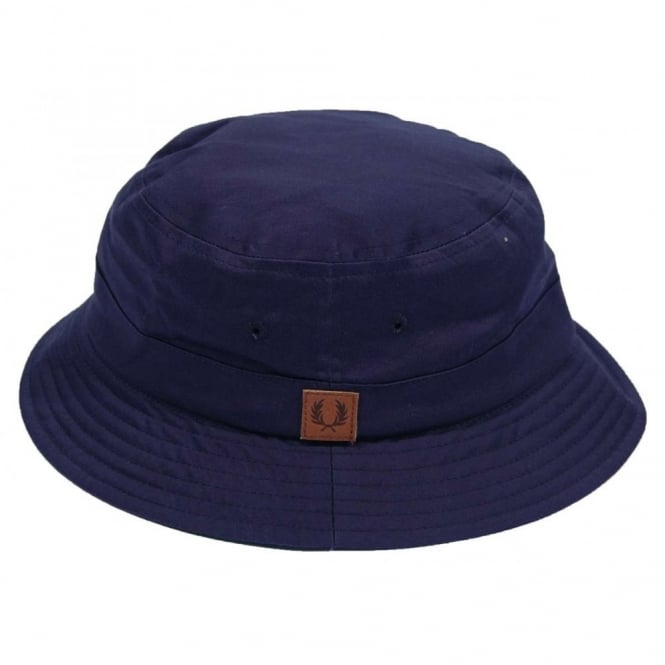 458af953405 Fred Perry HW4606 Classic Bucket Hat Carbon Blue - Mens Clothing ...