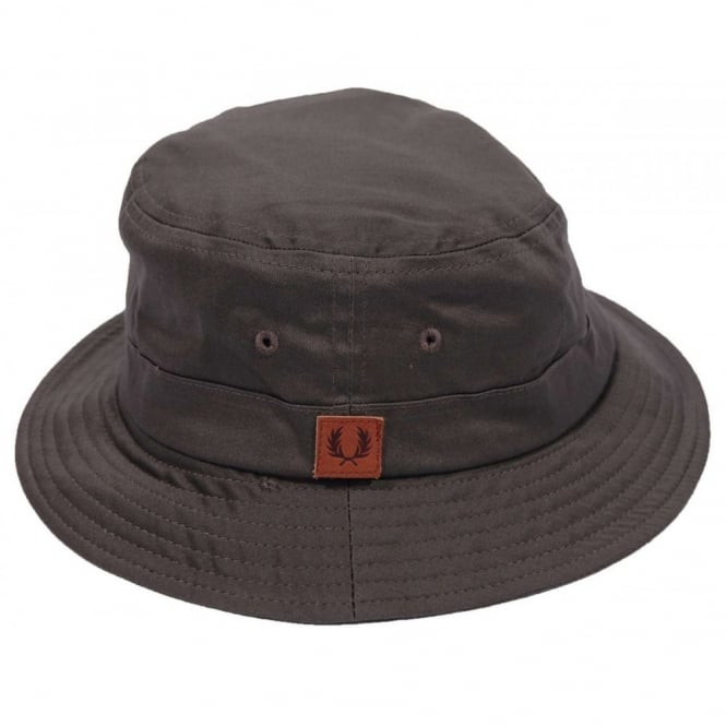 01fde38c409 Fred Perry HW4606 Classic Bucket Hat Iris Leaf - Mens Clothing from ...