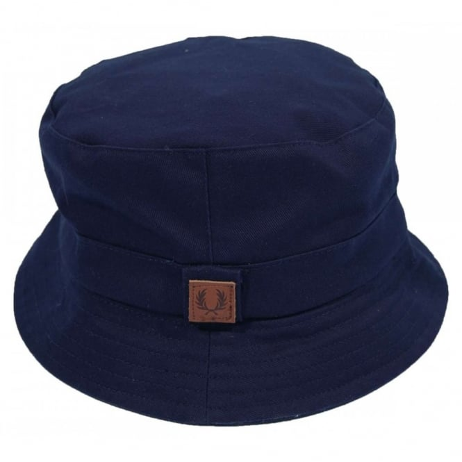 Fred Perry HW4608 Lined Pork Pie Hat Carbon Blue - Mens Clothing ... 8919918f29a