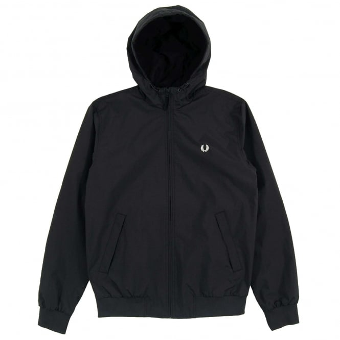 Fred Perry J2506 Hooded Brentham Jacket Navy
