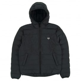 J2514 Insulated Hooded Brentham Jacket Black