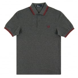 M3600 Twin Tipped Polo Graphite Marl Rosewood