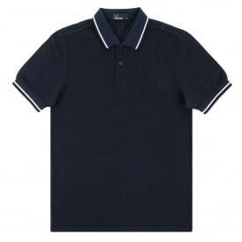 M3600 Twin Tipped Polo Service Blue Black Oxford White Black
