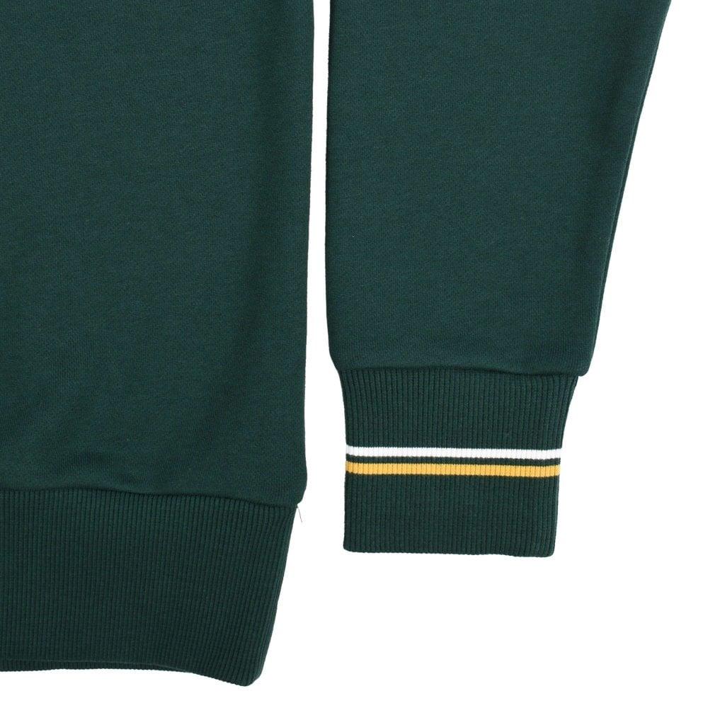 Fred Perry Loopback Crew Neck Sweatshirt Ivy
