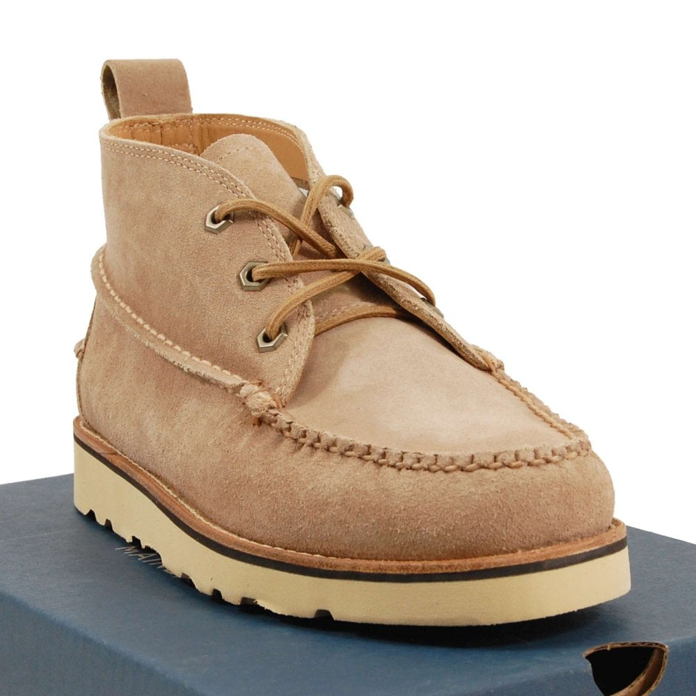 G H Bass /& Co //// Ranger Wedge //// Mens Tan Suede Boots //// REDUCED Was £135.00