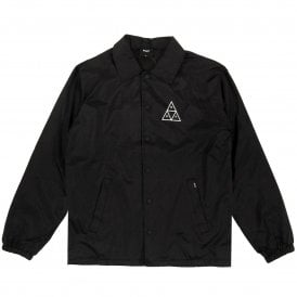 Triple Triangle Coaches Jacket Black