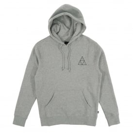 Triple Triangle Pullover Hoody Grey Heather