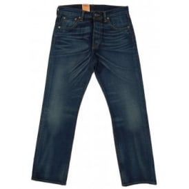 501 Selvedge Jeans Tattered Blues