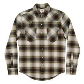 Barstow Western Check Shirt Couger