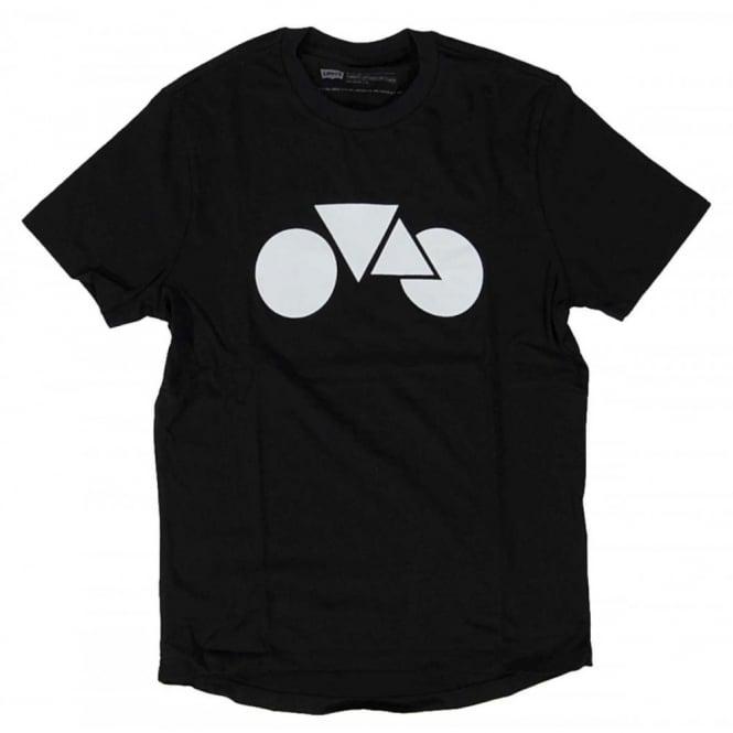 1da5fba115b56 Levi s Commuter Graphic T-Shirt Black - Mens Clothing from Attic ...