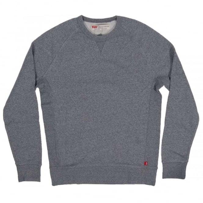 f9080eba2a Levi's Original Crew Sweatshirt Medium Grey Heather - Mens Clothing ...