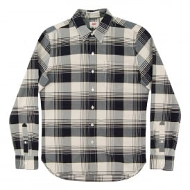 Sunset Pocket Check Shirt Moonbeam