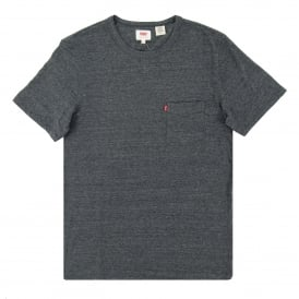 Sunset Pocket T-Shirt Charcoal Grey