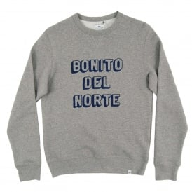 Bonito Crewneck Sweat Heather Grey