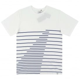Lines Wave T-Shirt White