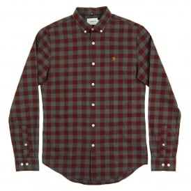 Murial Check Shirt Farah Red