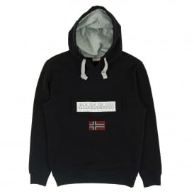 Burgee Hooded Sweat Black