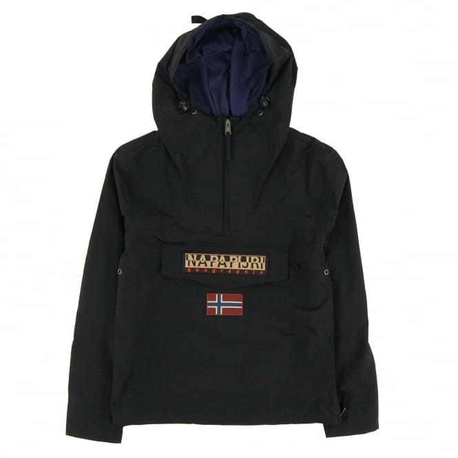 18bd2b373696f Napapijri Rainforest Summer Jacket Black - Mens Clothing from Attic ...