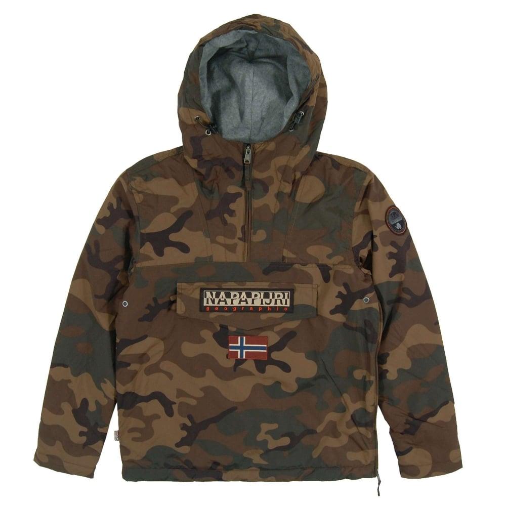 Napapijri Rainforest Winter Jacket Camo Khaki