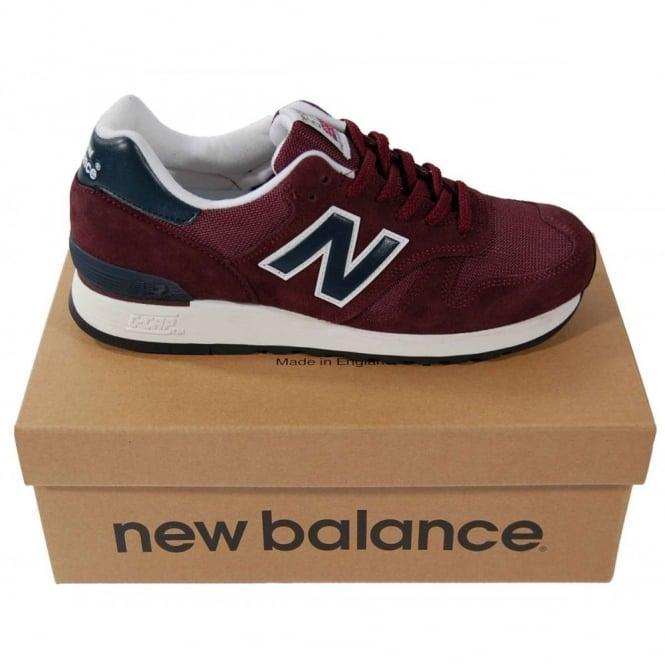oficjalny dostawca pierwsza stawka wyglądają dobrze wyprzedaż buty New Balance M670 SBN Suede Mesh Burgundy