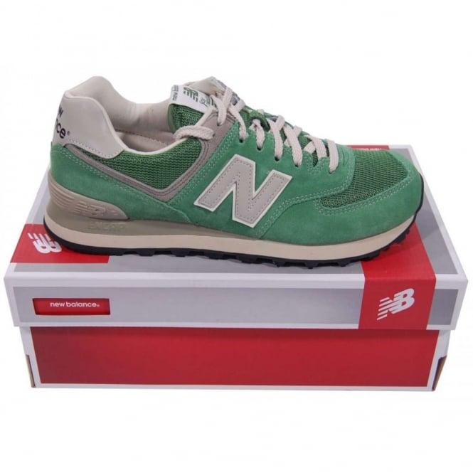 buy popular 40aa5 4b441 New Balance ML574 DGR Suede Mesh Vintage Green Oasis