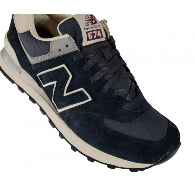 0c2ede0530d New Balance ML574 SRN Navy Pigskin Ripstop - Mens Clothing from ...