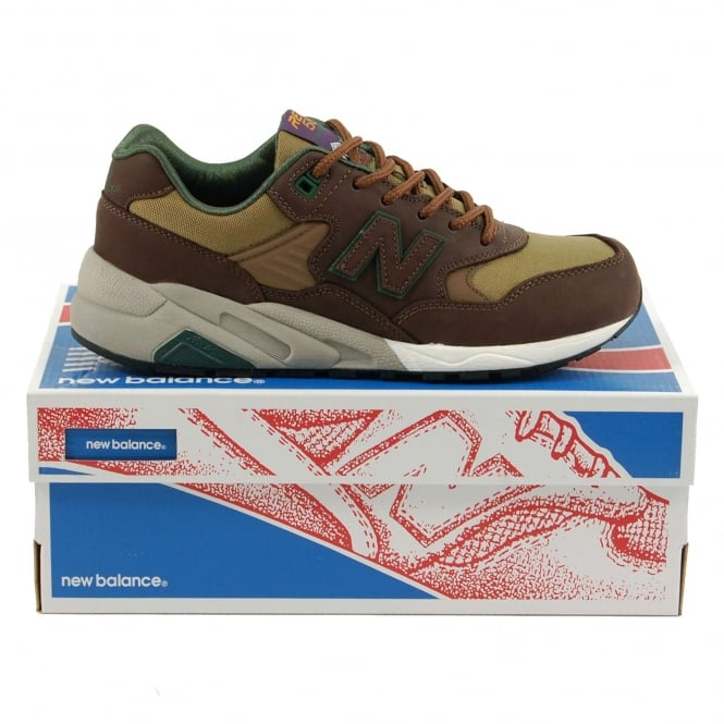 New Balance MRT580 LB Chocolate Brown Gothic Olive