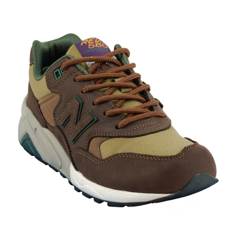 buy online 5a6fc 2988c New Balance MRT580 LB Chocolate Brown Gothic Olive