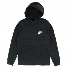 Advance 15 Zip Hoodie Knit Black Heather