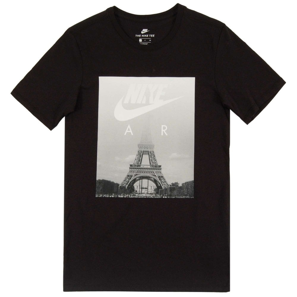 3a0c8073 Nike Air Eiffel T-Shirt Black - Mens Clothing from Attic Clothing UK