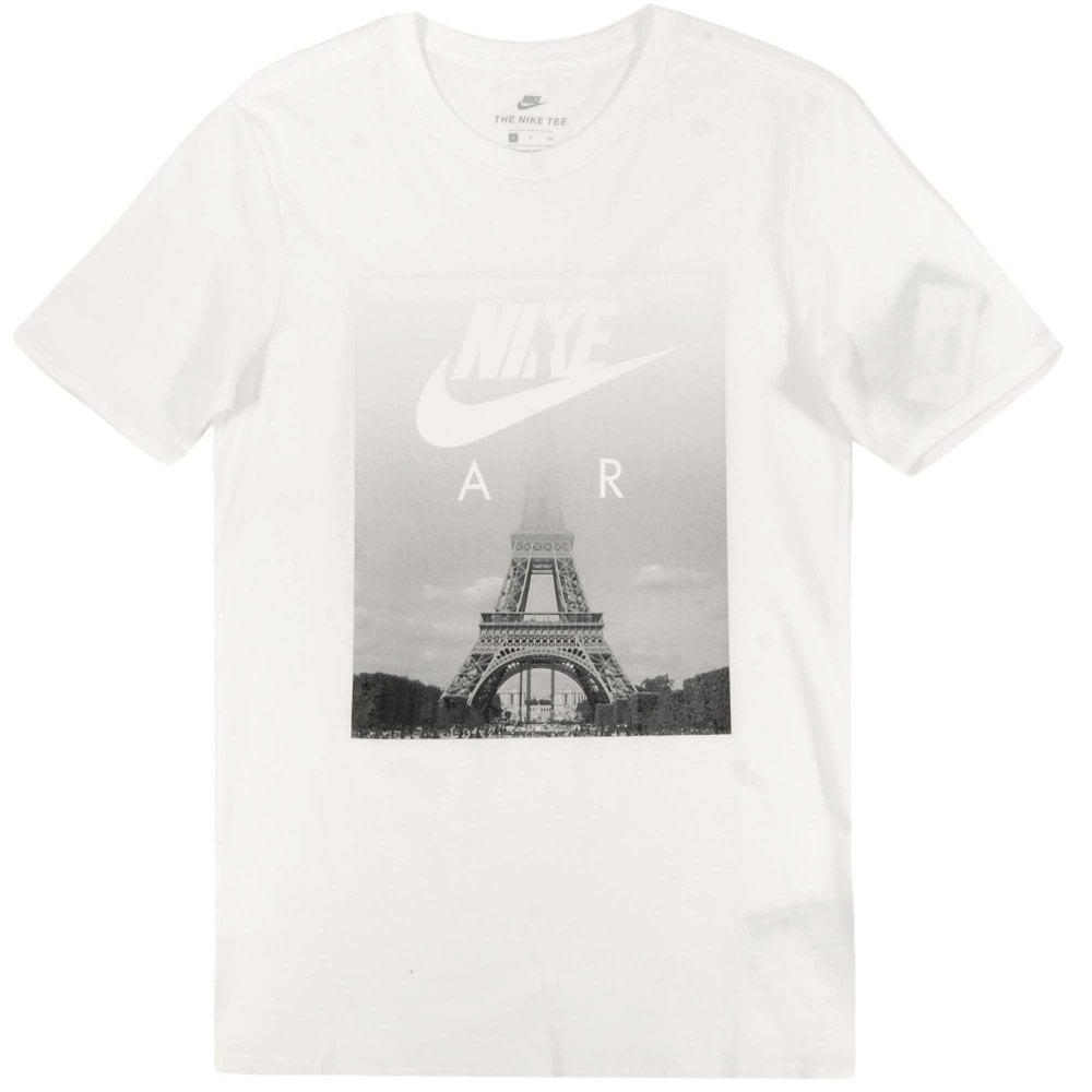 eb542eba Nike Air Eiffel T-Shirt White - Mens Clothing from Attic Clothing UK