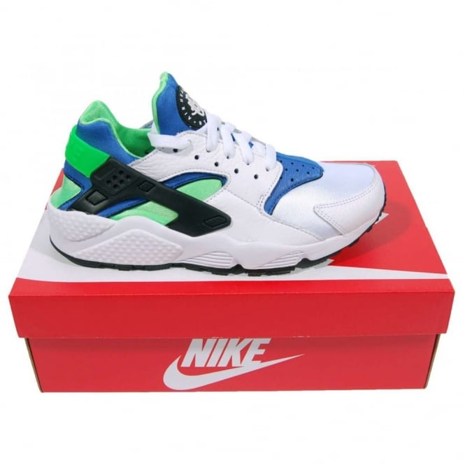 Nike Air Huarache Shoes White Scream Green