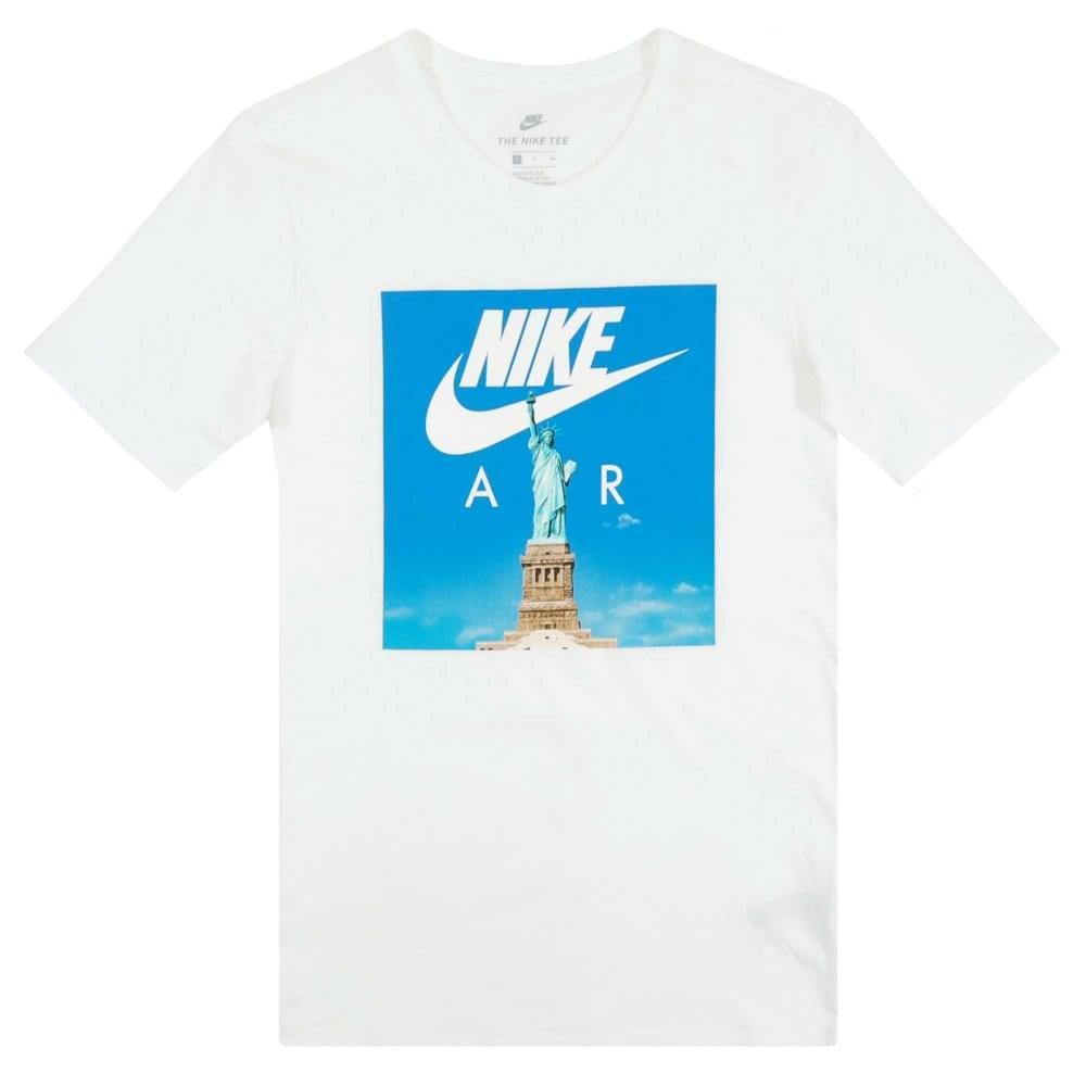 6b288965 Nike Air Liberty T-Shirt White White - Mens Clothing from Attic ...