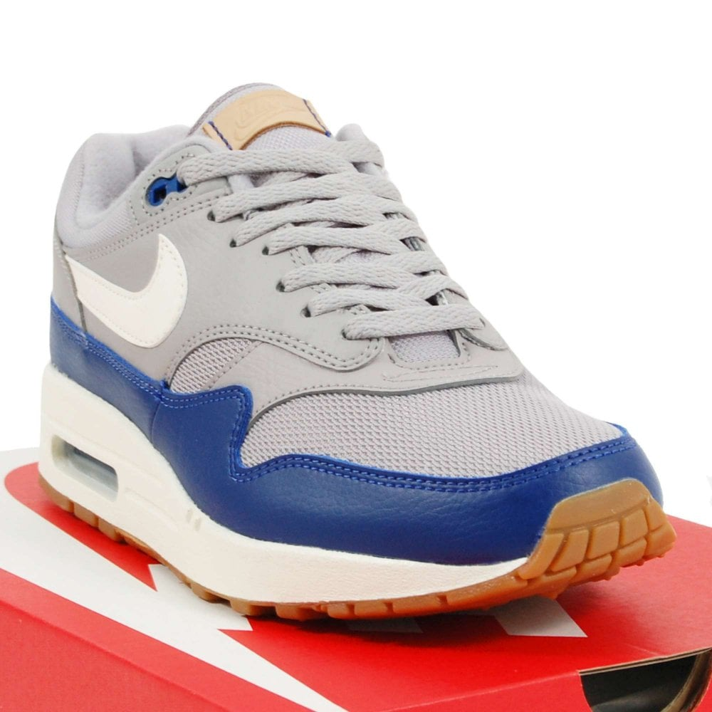low cost 73406 dc44b Air Max 1 Atmosphere Grey Sail Deep Royal Blue Gum
