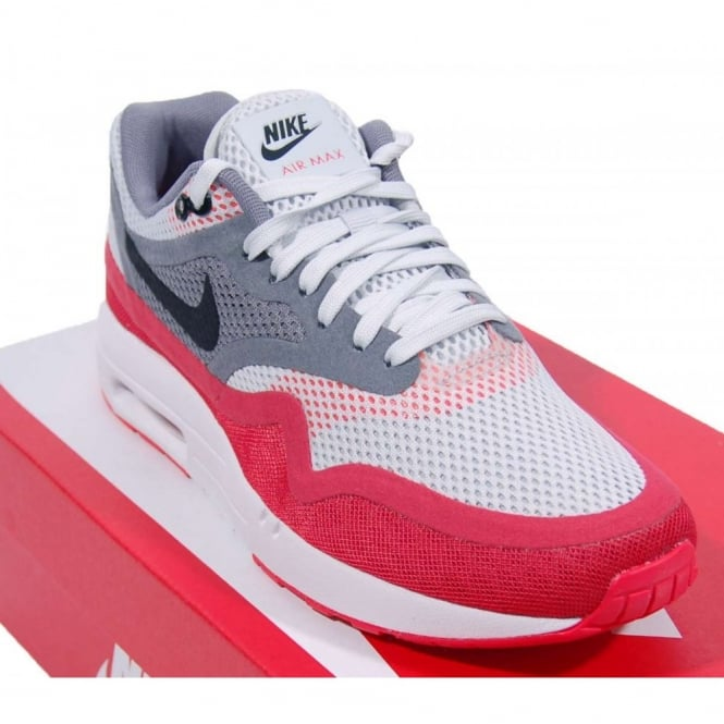Nike Air Max 1 Breeze Platinum University Red