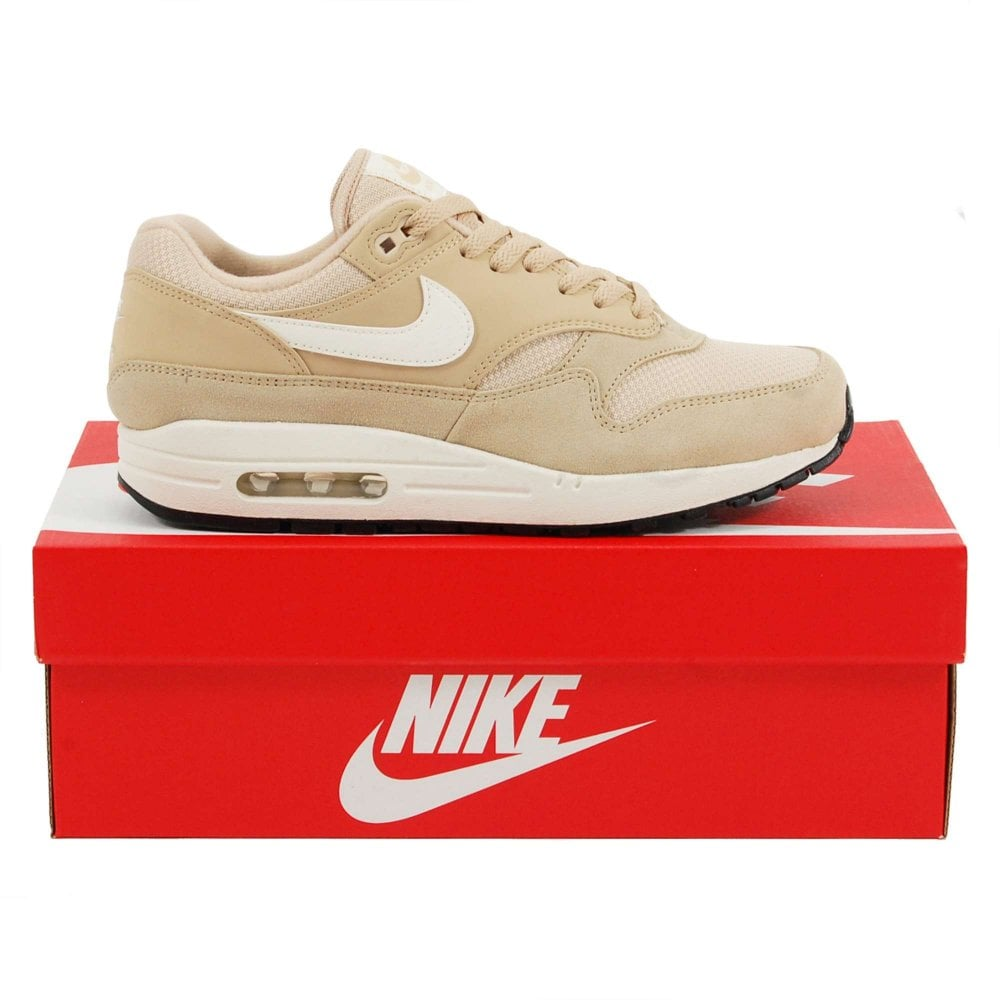outlet store dc934 e8205 Air Max 1 Desert Ore Sail Black